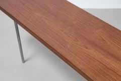 Teak Danish Design Table Bench Attributed to Hans Wegner, Denmark, 1950s