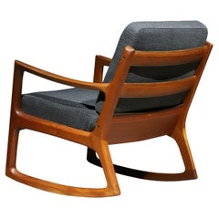Teak Danish Rocking Chair by Ole Wanscher
