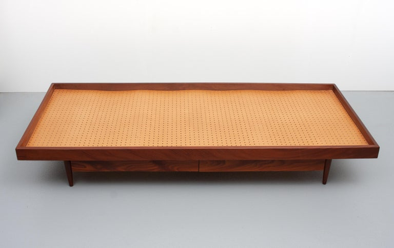 Teak Daybed, 1950s, Holland For Sale 1