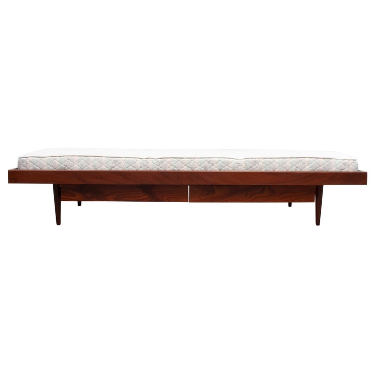 Teak Daybed, 1950s, Holland For Sale