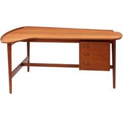 Teak Desk by Arne Vodder