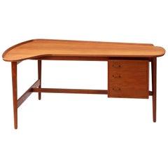 Teak Desk by Arne Vodder for Sibast Furniture