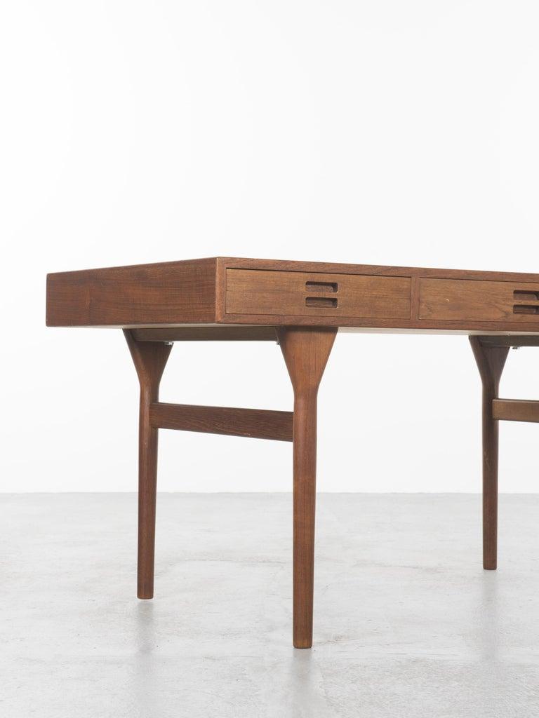 Scandinavian Modern Teak Desk by Nanna Ditzel, 1958 For Sale