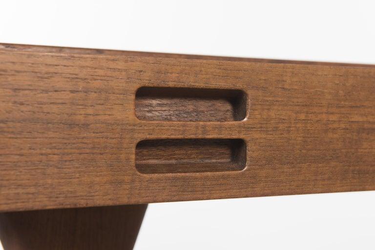 Teak Desk by Nanna Ditzel, 1958 In Good Condition For Sale In Villeurbanne, Rhone Alpes