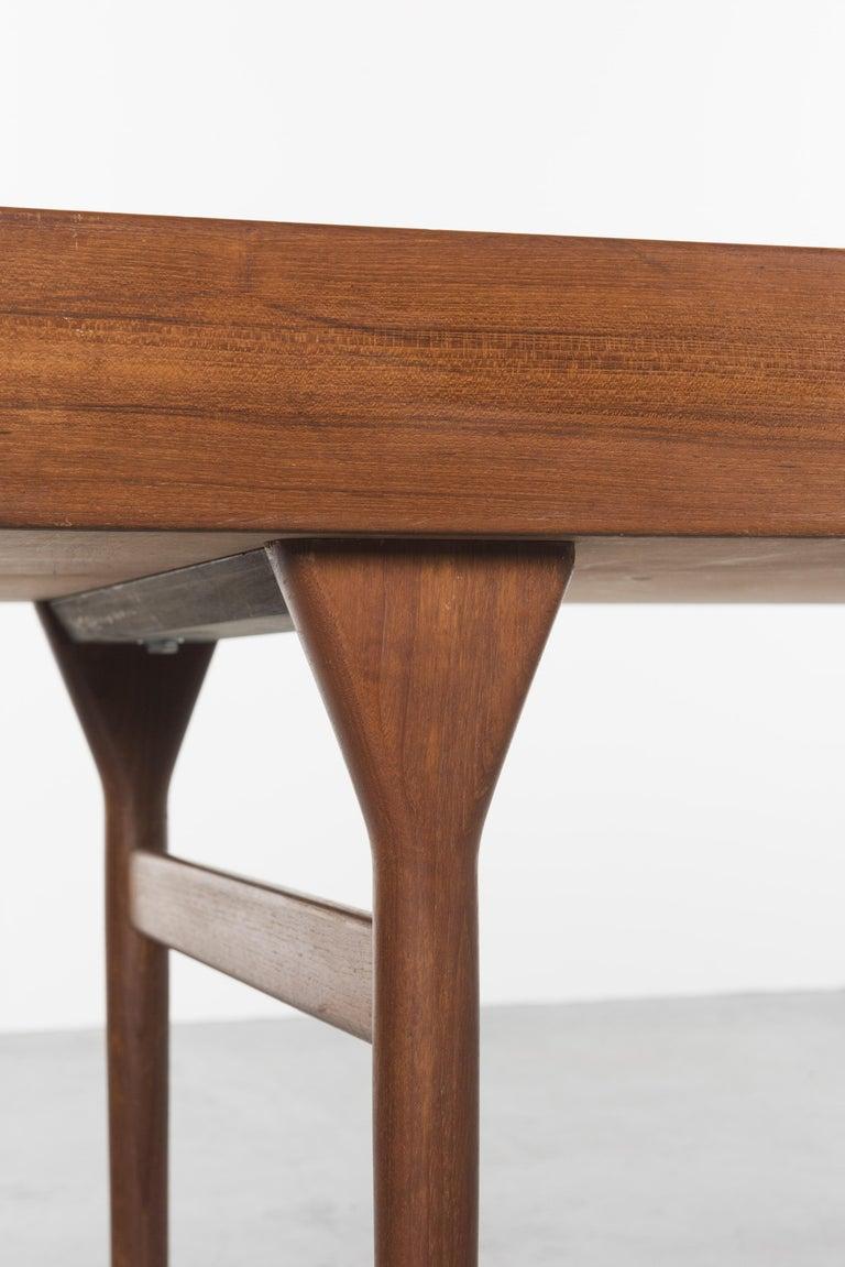 Teak Desk by Nanna Ditzel, 1958 For Sale 1