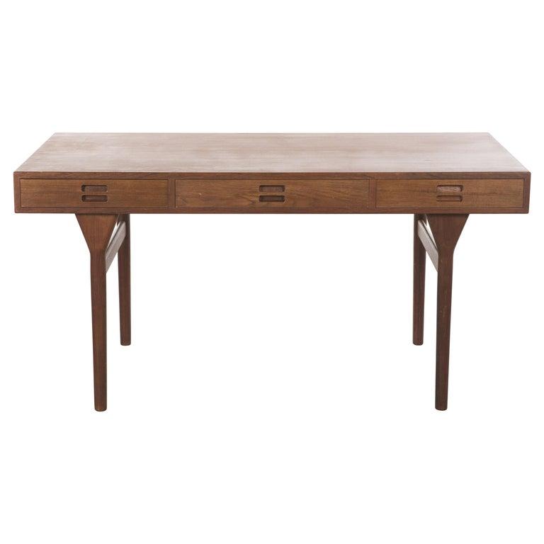 Teak Desk by Nanna Ditzel, 1958 For Sale