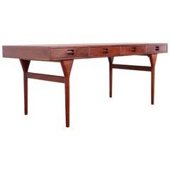 Teak Desk by Nanna Ditzel for Søren Willadsen Møbelfabrik, 1955