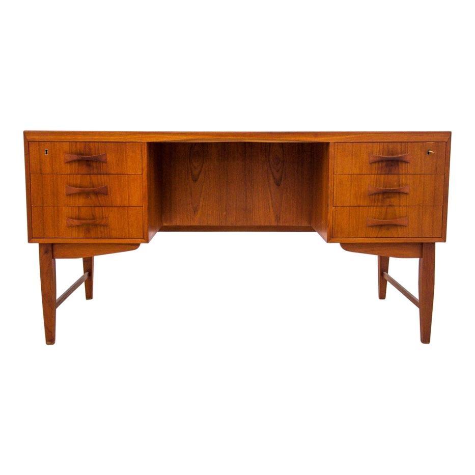 Teak Desk, Danish Design, 1960s