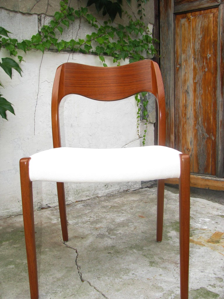 Danish Teak Dining Chair by Niels Otto Møller Model 71 For Sale