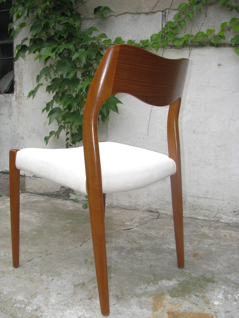 Teak Dining Chair by Niels Otto Møller Model 71 In Excellent Condition For Sale In Vienna, AT