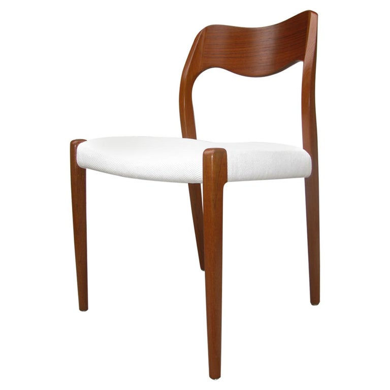 Teak Dining Chair by Niels Otto Møller Model 71 For Sale