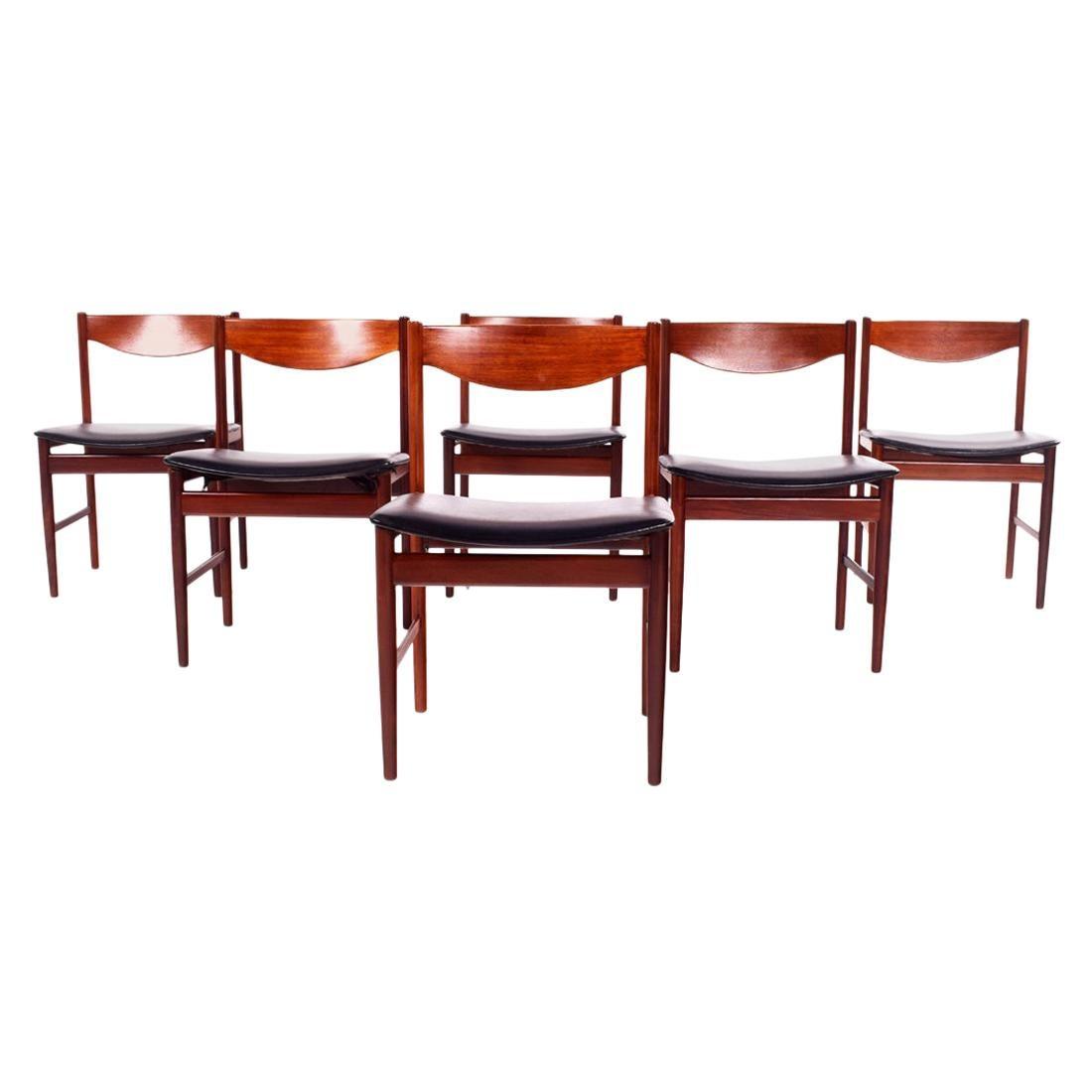 Teak Dining Chairs by Ib Kofod-Larsen for G-Plan
