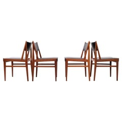 Teak Dining Chairs Holland, 1960s