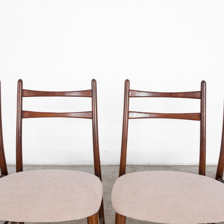 Teak Dining Chairs, Set of Four For Sale 3