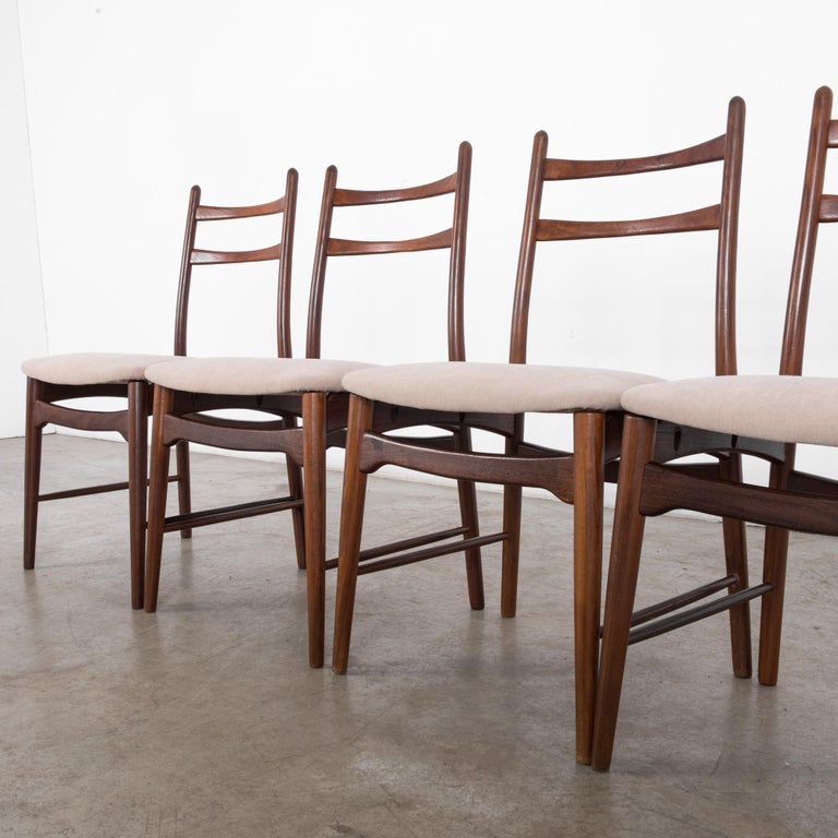 Teak Dining Chairs, Set of Four For Sale 5