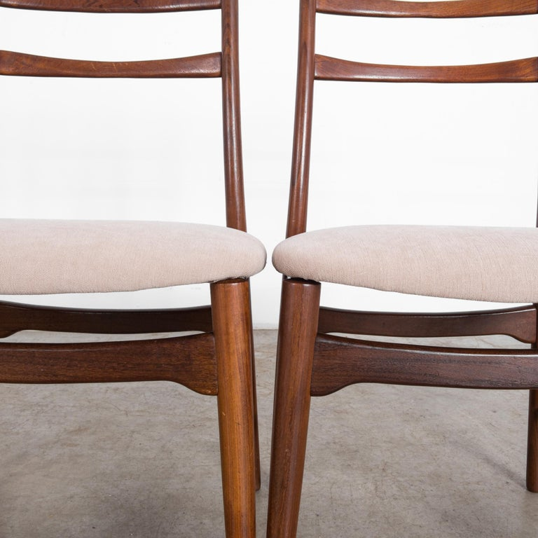 Teak Dining Chairs, Set of Four For Sale 6