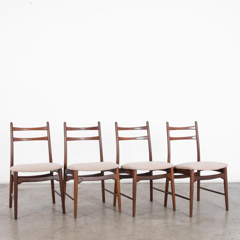 Danish Teak Dining Chairs, Set of Four For Sale