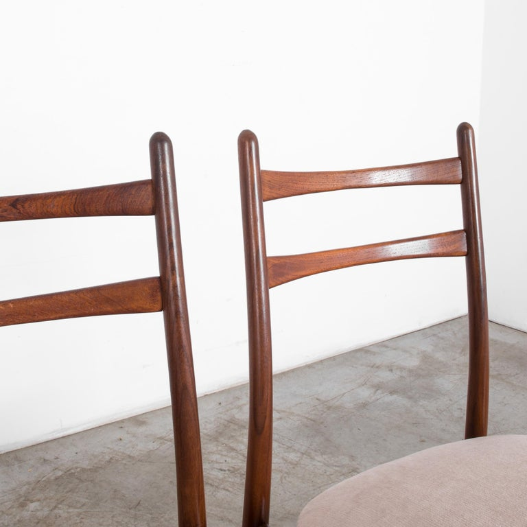 Teak Dining Chairs, Set of Four For Sale 2