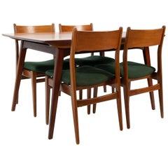 Teak Dining Set, Louis Van Teeffelen