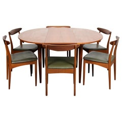 Teak Dining Table and 6 Chairs Greaves & Thomas