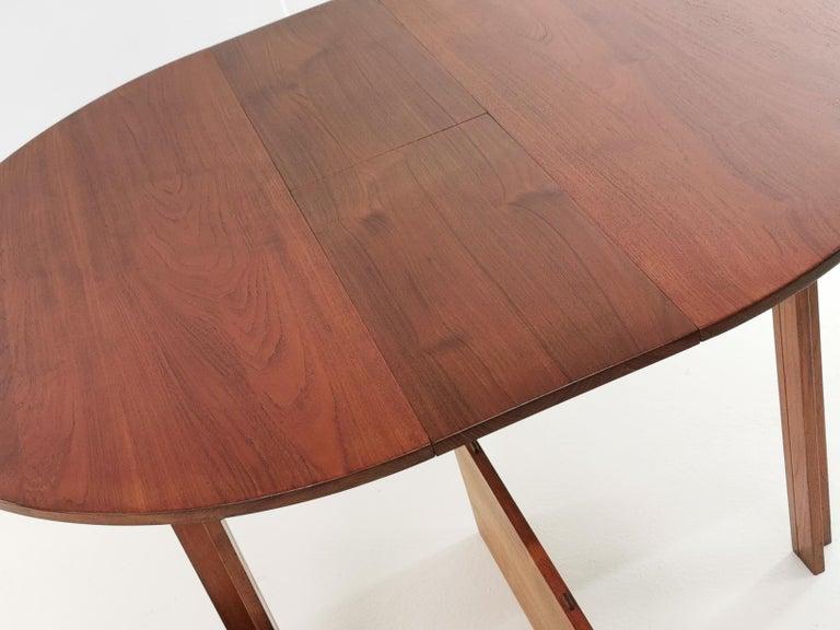 Teak Dining Table by Inger Klingenberg for France & Son Midcentury, 1960s For Sale 1