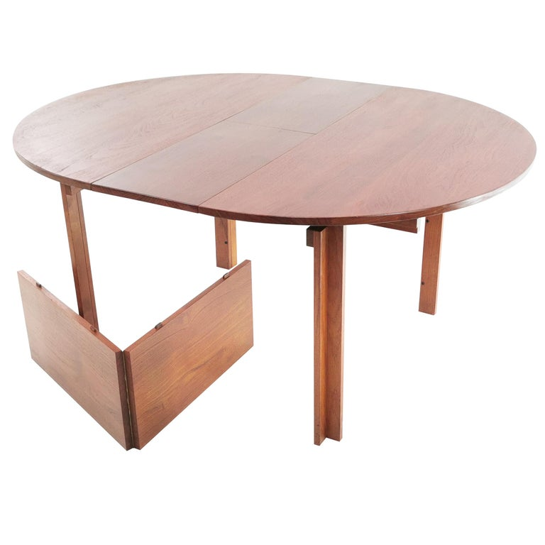 Teak Dining Table by Inger Klingenberg for France & Son Midcentury, 1960s For Sale