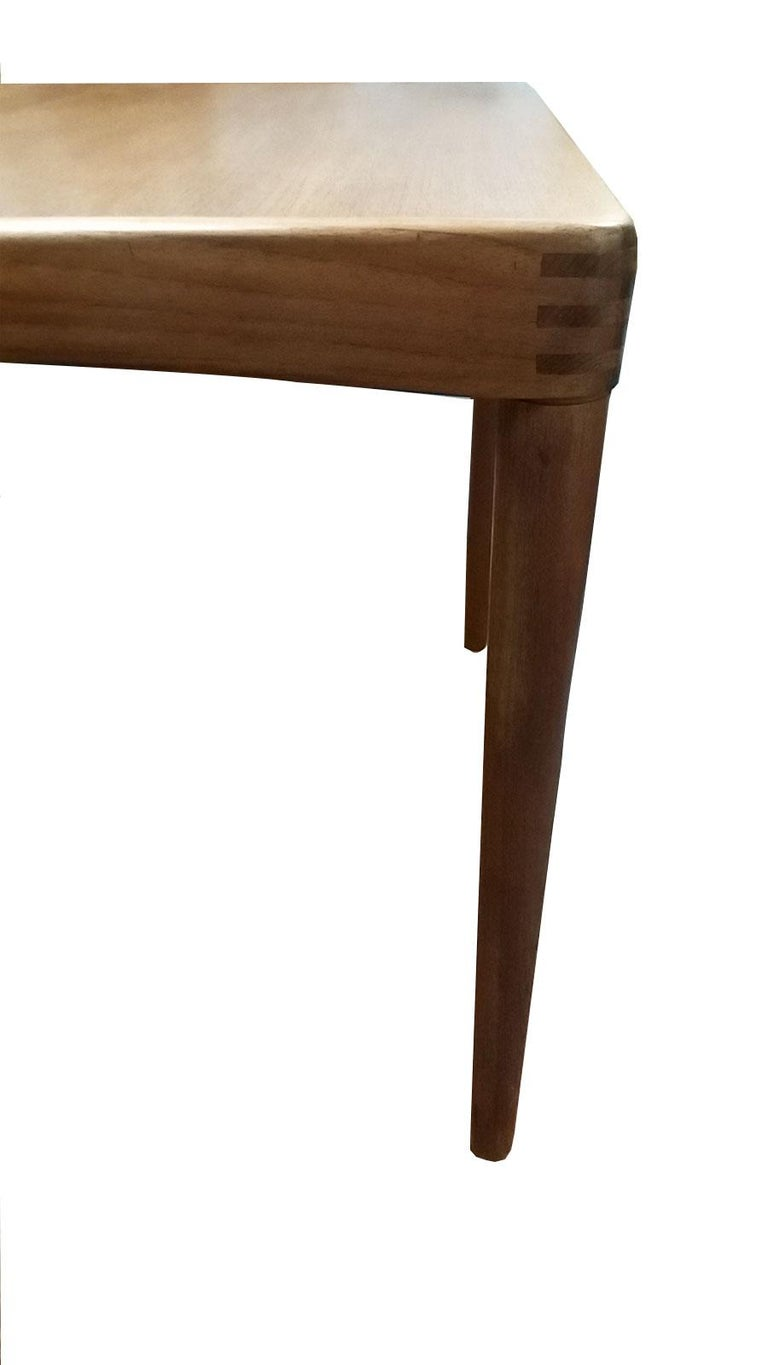 Mid-Century Modern Teak Dining Table by Klein For Sale