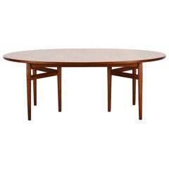 Teak Dining Table Model 212 by Arne Vodder for Sibast, 1950s
