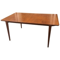 Teak Dining Table with 2 Leaves