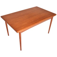 Teak Draw Leaf Dining Table by Skovby