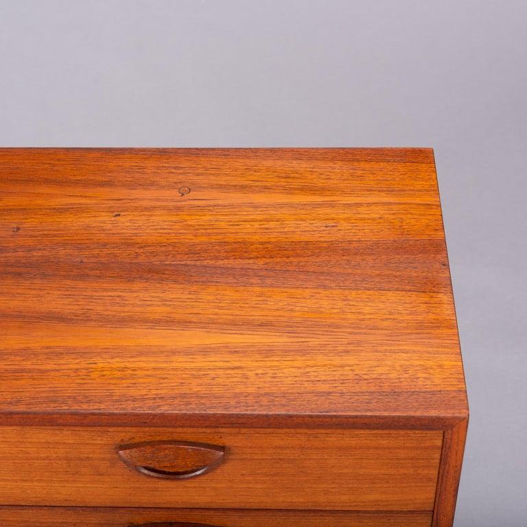 Teak Dresser by Kai Kristiansen for FM Møbler, 1962 For Sale 3