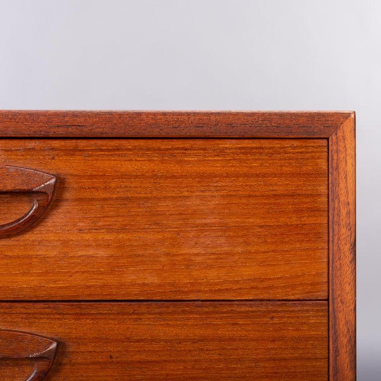 Teak Dresser by Kai Kristiansen for FM Møbler, 1962 For Sale 5