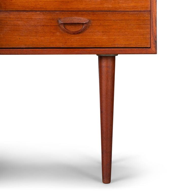 Danish Teak Dresser by Kai Kristiansen for FM Møbler, 1962 For Sale