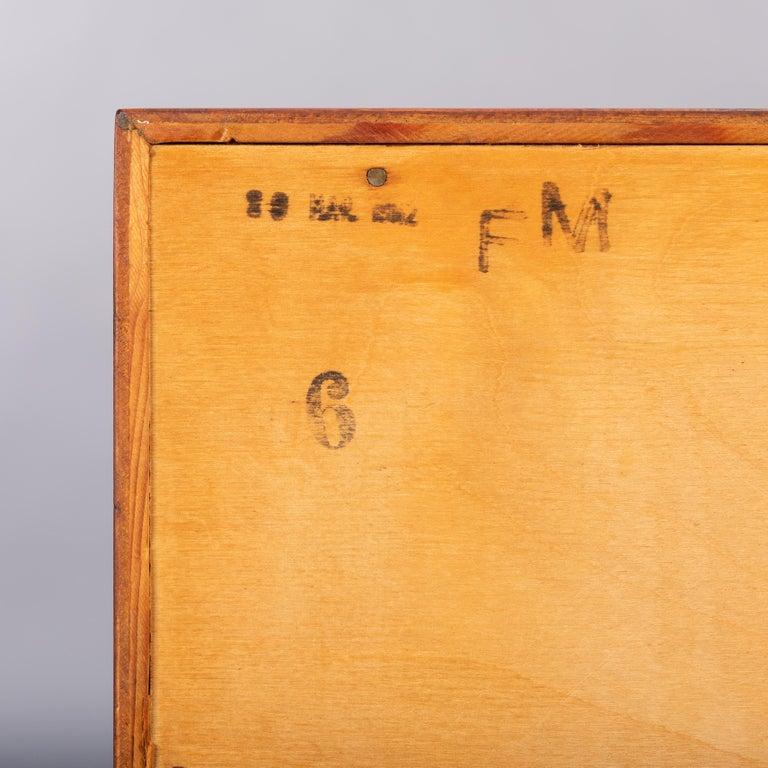Teak Dresser by Kai Kristiansen for FM Møbler, 1962 In Good Condition For Sale In Teteringen, Noord-Brabant