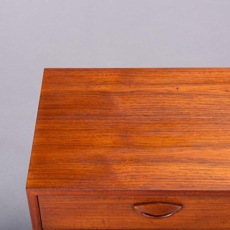 Teak Dresser by Kai Kristiansen for FM Møbler, 1962 For Sale 1