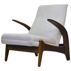 Teak Easy Chair by Rastad & Adolf Relling for Arnestad Bruk, 1950s