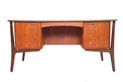 Teak Executive Desk Model 20 by Svend Madsen