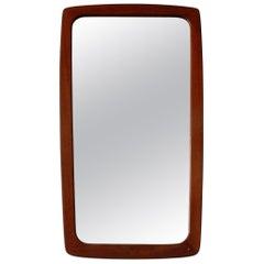 Teak Framed Mirror, Denmark 1960s