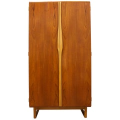 Teak Gentlemans Wardrobe from Stonehill, 1960s