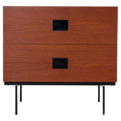 Teak Japanese Series Chest of drawers by Cees Braakman for Pastoe Model DU10