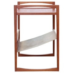 Teak Kai Kristiansen Magazine Rack for Sika Mobler Side Table
