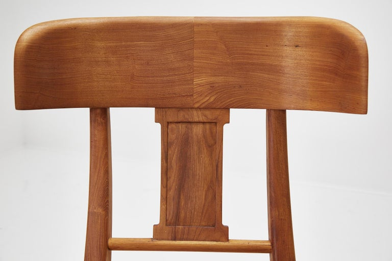 Teak Klismos Side or Dining Chair by Michael Taylor Collections For Sale 5