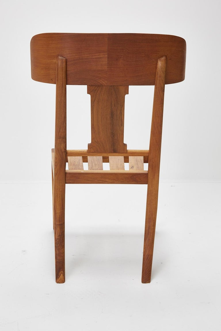 Teak Klismos Side or Dining Chair by Michael Taylor Collections For Sale 13