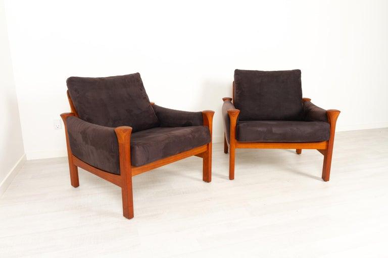 Teak Living Room Set by Arne Vodder for Cado, 1970s For Sale 5