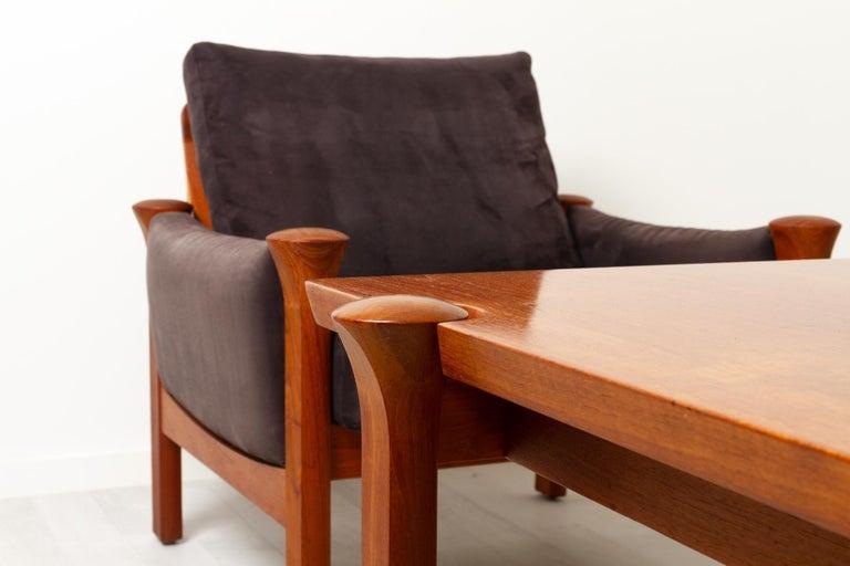 Teak Living Room Set by Arne Vodder for Cado, 1970s For Sale 9