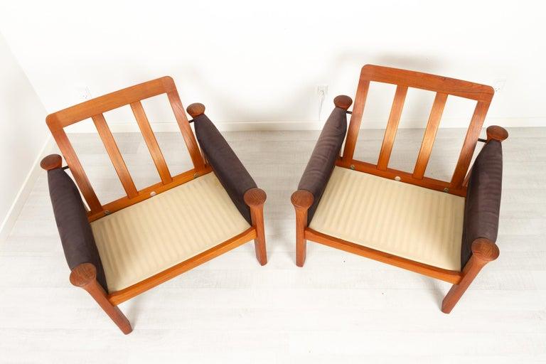 Teak Living Room Set by Arne Vodder for Cado, 1970s For Sale 12