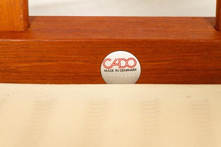 Teak Living Room Set by Arne Vodder for Cado, 1970s For Sale 14