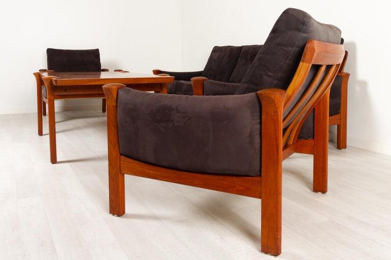 Teak Living Room Set by Arne Vodder for Cado, 1970s For Sale 1