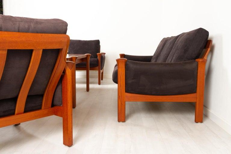 Teak Living Room Set by Arne Vodder for Cado, 1970s For Sale 2