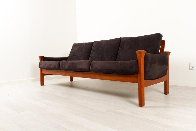 Teak Living Room Set by Arne Vodder for Cado, 1970s For Sale 3